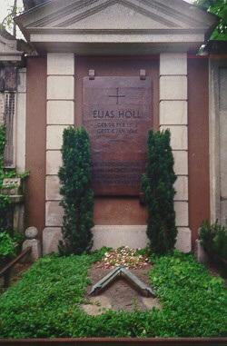 Elias Holls Grab auf dem Protestantischen Friedhof in Augsburg