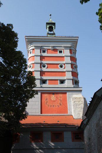 Rotes Tor an der Freilichtbühne