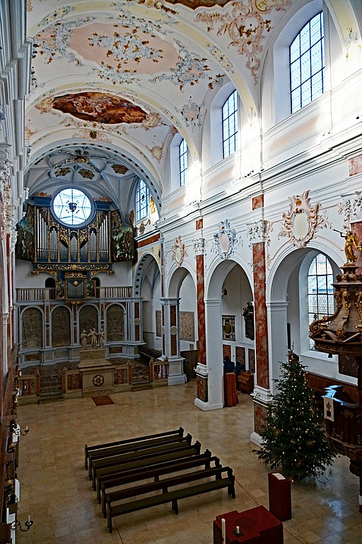 St. Anna, Fuggerkapelle, Fuggerorgel und Langhaus