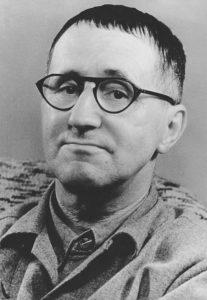 Dramatiker und Lyriker Bertolt Brecht