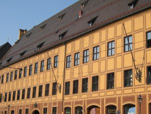 Fuggerpalais in der Maximilianstrasse