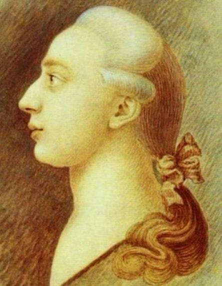Giacomo Girolamo Casanova im Alter von rund 25 Jahren