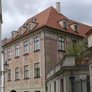 Bürgerhaus des Kaufmanns und Goldpapierfabrikanten Peter Kathan