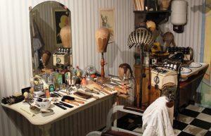 Museumsführung und der Friseursalon im Lechfeldmuseum