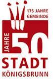 Logo 175 Jahre Gemeinde Königsbrunn und 50 Jahre Stadt Königsbrunn